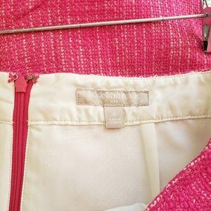 Banana Republic Skirts - Pink tweed banana republic skirt